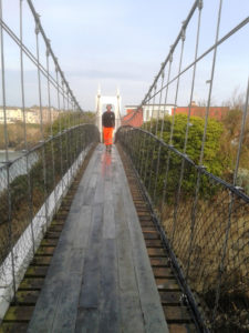 refurbish of a Victorian bridge